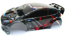 Fiesta St Rally Body Shell Tra7416 Black Amp Red Cover 110 Traxxas Ford 74054 6
