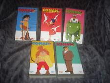 Conan il ragazzo del futuro serie completa tv vhs yamato video 1 2 3 4 5 lotto