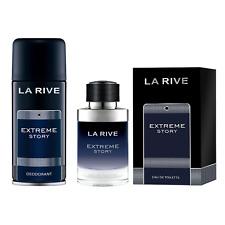 (100ml/6,31€) La Rive Extreme Story 75 ml + Extreme Story Deo 150ml ★★★DHL★★★