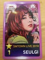 Red Velvet SEULGI Photocard Trading Card SMTOWN OSAKA JAPAN 2018 Venue Limited