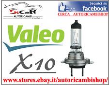 10X LAMPADINE ALOGENE ANABBAGLIANTI E ABBAGLIANTI H7 VALEO 12V 55W
