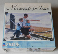 Sure-Lox Moments in Time Quality Jigsaw Puzzle Fathers Day Daddy 750 Pieces
