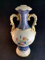 Vintage Floral Pattern Ceramic Porcelain Decorative Vase