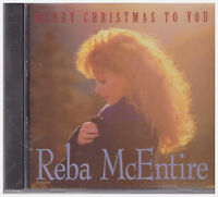 MERRY CHRISTMAS TO YOU Reba McEntire (CD, 1995, MCA Nashville) NEW