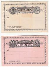 Ecuador: Postal Stationery: 2c and 3c Postcards, Unused
