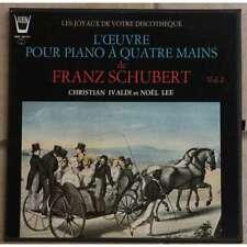ARION ARN 336015: SCHUBERT WORKS FOR PIANO 4-HANDS vol 2 - IVALDI/LEE: 3X LP NM