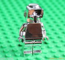 Lego Star Wars Silver Chrome 41st Kashyyyk Elite Corps Trooper Minifigure NEW!!!