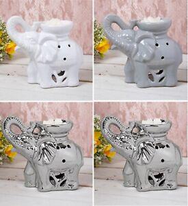 Elephant Oil Burner Wax Tart Oil Warmer Tea Light Candle Holder Fragrance Gift