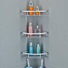 3 Tier Aluminum Shower Caddy Shelf Storage Corner Bathroom Shampoo Rack