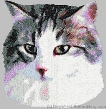 Embroidered Sweatshirt - Norwegian Forest Cat Dle2660 Sizes S - Xxl