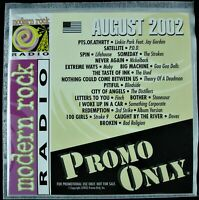 """PROMO ONLY """"MODERN ROCK AUGUST 2002"""" DJ PROMO CD COMPILATION MOBY, FINCH *NEW*"""