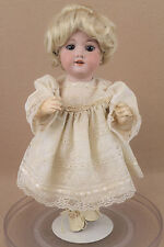 "14"" antique bisque head composition German Armand Marseille DOLLY FACE doll"