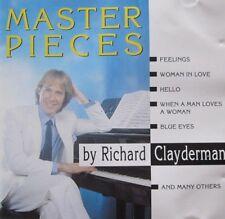 RICHARD CLAYDERMAN - MASTER PIECES BY RICHARD CLAYDERMAN  - CD