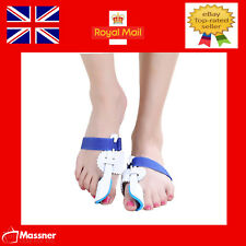 Bunion Splint Corrector Hallux Valgus Straightener Toe Separator Support pair UK