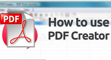 PDF Creator software Create PDFs Pro Professional Digital download Adobe reader