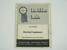 Electrical Equipment Farmall Cub Tractor Service Manual Intern'l Harvester 1955