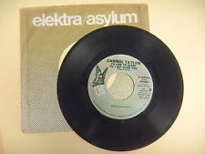 CARMOL TAYLOR i'd like to sleep til i get over you/ back in the U S A  new 45