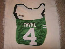 Football New York Jets Favre #4 NFL Jersey Tote Bag NWT