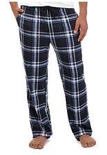 NWT Nautica Soft Silky Fleece PJ Lounge Pants Navy/Green Plaid M $38.msrp