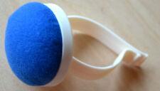 Nadelkissen Armnadelkissen mit Spange blau