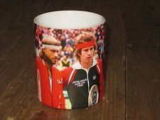 Bjorn Borg and John McEnroe Tennis Legends Wimbledon MUG