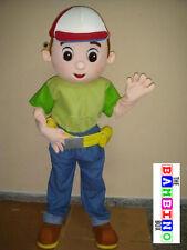 Manny Costume / Fancy Dress Mascot / Handy Peppa Builder Bob