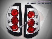 2002-06 07 GMC Envoy Euro Tail Lights Chrome 05 04 03