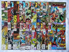 Ravage 2099 • mixed lot of 18 comics • #1 to #26 (Marvel 1992-95) • Mint!