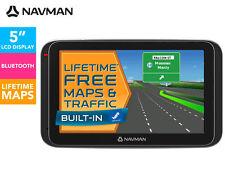 """Navman MY400LMT 5"""" GPS Navigator Touch screen Bluetooth 3D View Lifetme Maps"""
