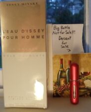 Issey Miyake L'eau D'Issey Pour Homme Gold Absolute~5ML Deluxe Decant Atomizer
