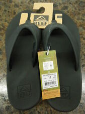 NEW - MEN'S REEF FANNING ALL BLACK,  STYLE: RF002026, SIZE 9 - 13,  $53.00