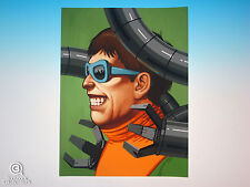 Doctor Octopus Mondo Mike Mitchell Portrait Print Marvel Comics Giclee Proof