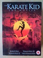 Karate Kid Colección DVD Caja Set 4 Película con / Ralph Macchio y Hilary Swank