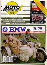 MOTO COLLECTION  2 BMW R 75 + Side Car R75 Africa Korps WW2 WH KAWASAKI H1 Z1