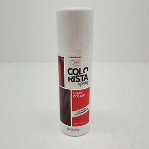 1 L'Oreal Paris COLORISTA Spray 1 Day Color #RED400 - 2.0 oz