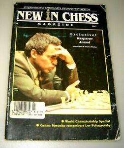 New in Chess Magazine, 1995, No. 7 KASPAROV ANAND