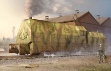 Trumpeter 00219 - 1:35 Ger. Panzerlok BR57 Armoured Locomotive - Neu