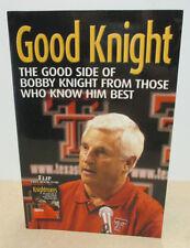 "Good Knight/Knightmares: The Bright & Dark Sides of Bob Knight ""LikeNew""See pics"