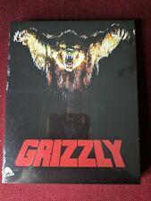 (Blu-ray) GRIZZLY (2021, Severin Films Special Limited Edition, Slipcover)