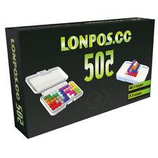 Neu Lonpos 505 Geduldspiele Denkspiel 2D 3D Denk- Logikspiel Gehirntraining!116