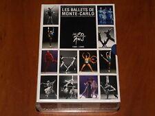 LES BALLETS DE MONTE CARLO 4x DVD BELLE ROMEO ET JULIETTE MINIATURES CASSE New