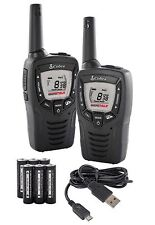 Cobra MT645 MicroTalk Walkie-Talkie Radio Set PMR446 5 Miles Range Rechargeable