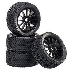 Buggy Reifen Felgenset Street mit 10-Speichenfelge schwarz 1:8 4 Stück partCore