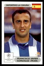 """Panini Champions League 2000/2001 – Gonzalez """"Fran"""" Deportivo  No.202"""