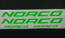 Norco Fluoro vinyl sticker / decal restore respray pack, 4 pcs. 3 colours