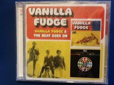 VANILLA. FUDGE.      2 CDs.        Vanilla fudge /. the beat goes on.