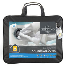 The Fine Bedding Company Spundown Duvet Luxury Fully Washable Microfibre Quilts Double 4.5