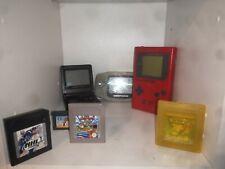 Nintendo gameboy color, Advance Etc