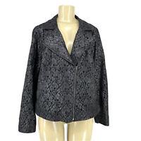 Lane Bryant Plus Size 16 Women Lace Blazer Jacket AC10