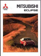 Mitsubishi Eclipse 2000 GSi-16v 1992-93 German Market Sales Brochure